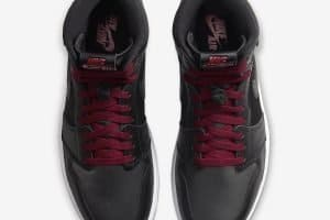Air Jordan 1 Retro Hi Black Gym Red Black3