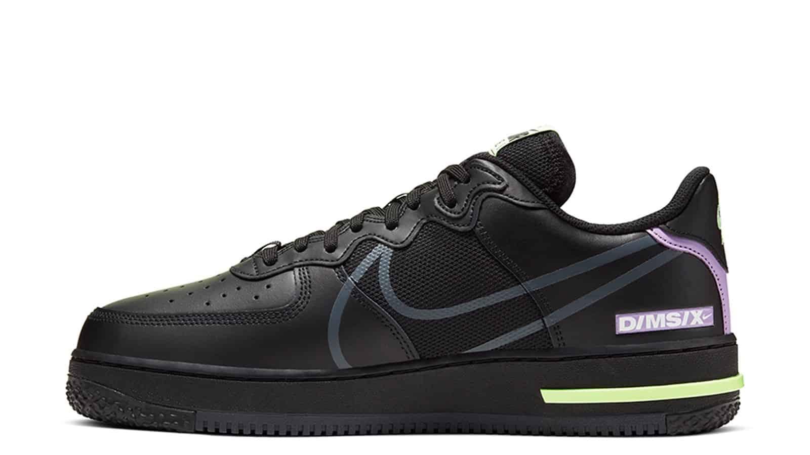 Nike Air Force 1 D MS X Black