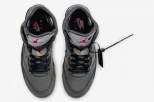 Off White x Air Jordan 5 OI2