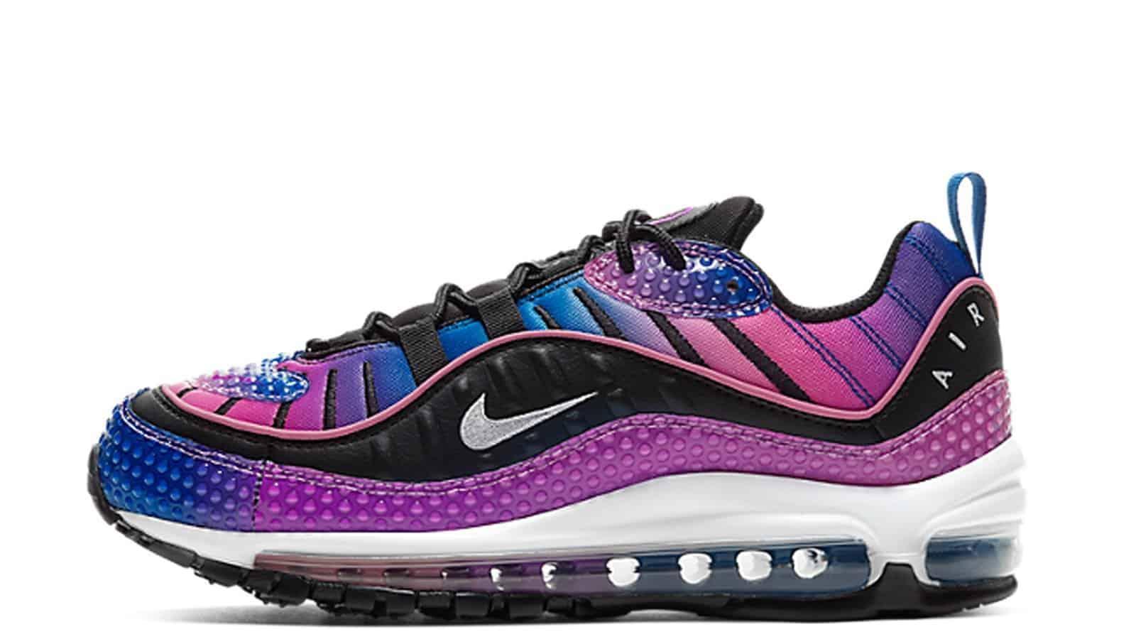Nike Air Max 98 Bubbles Purple
