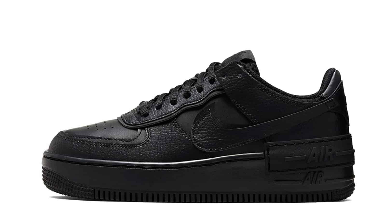Nike Air Force 1 Shadow Black