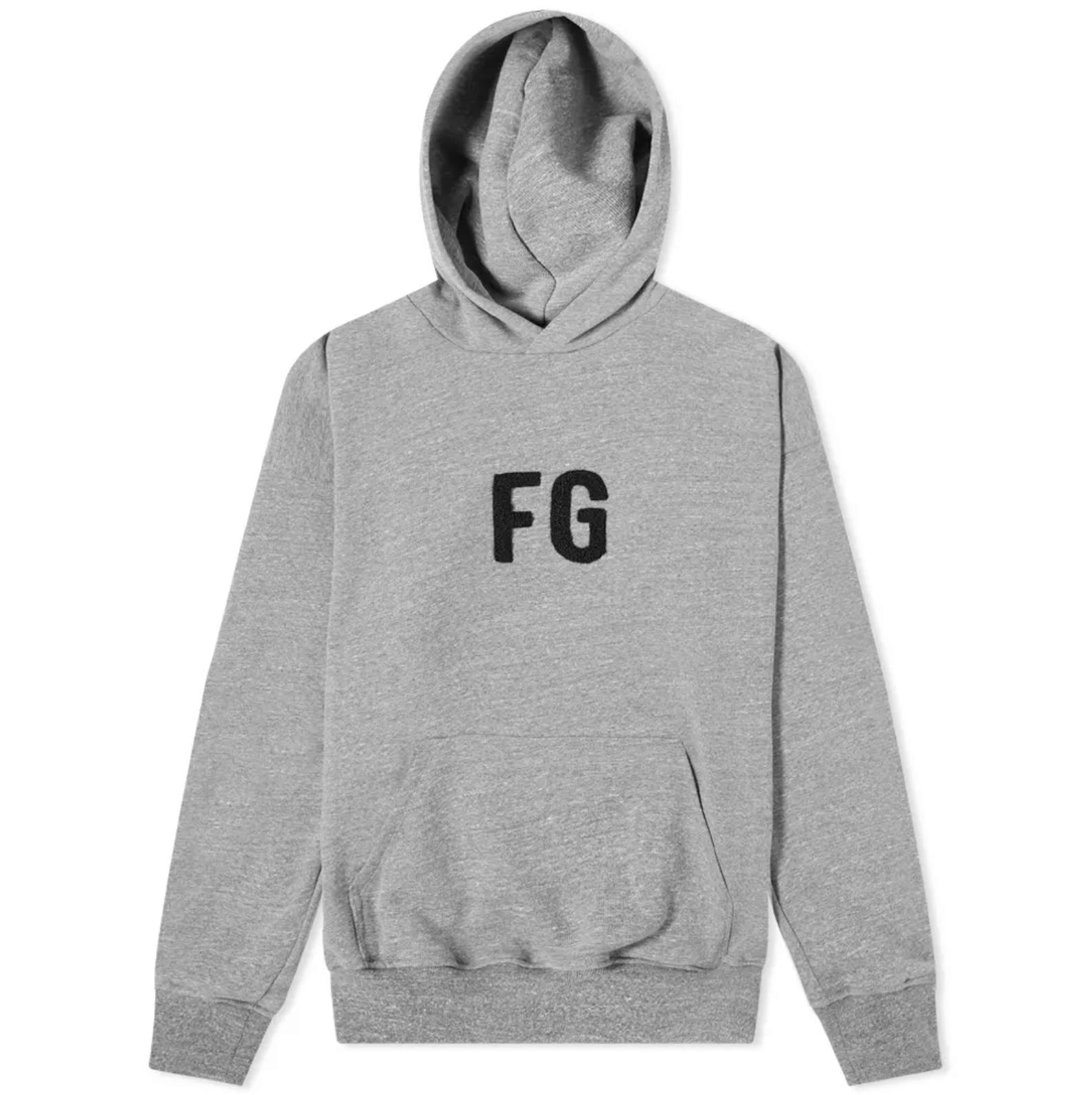 Fear Of God Grey Everyday Hoody