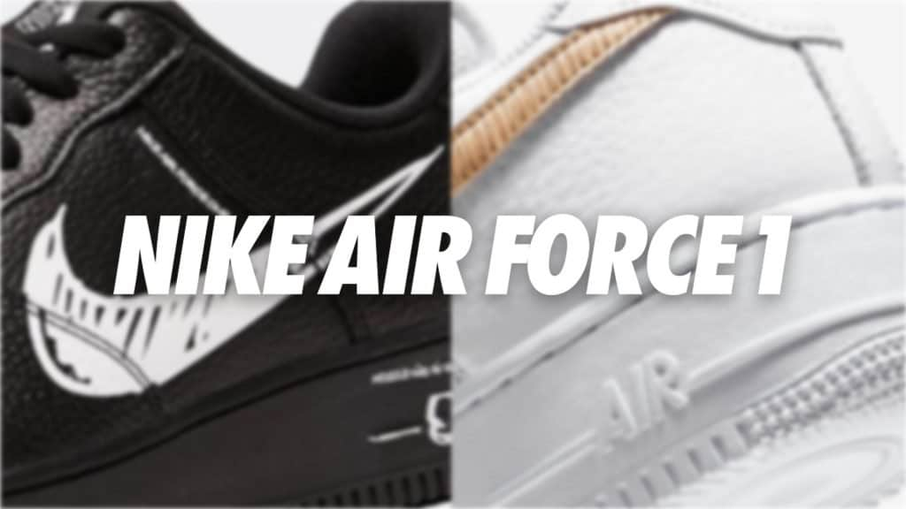 Nike Air Force 1's in stock right now!