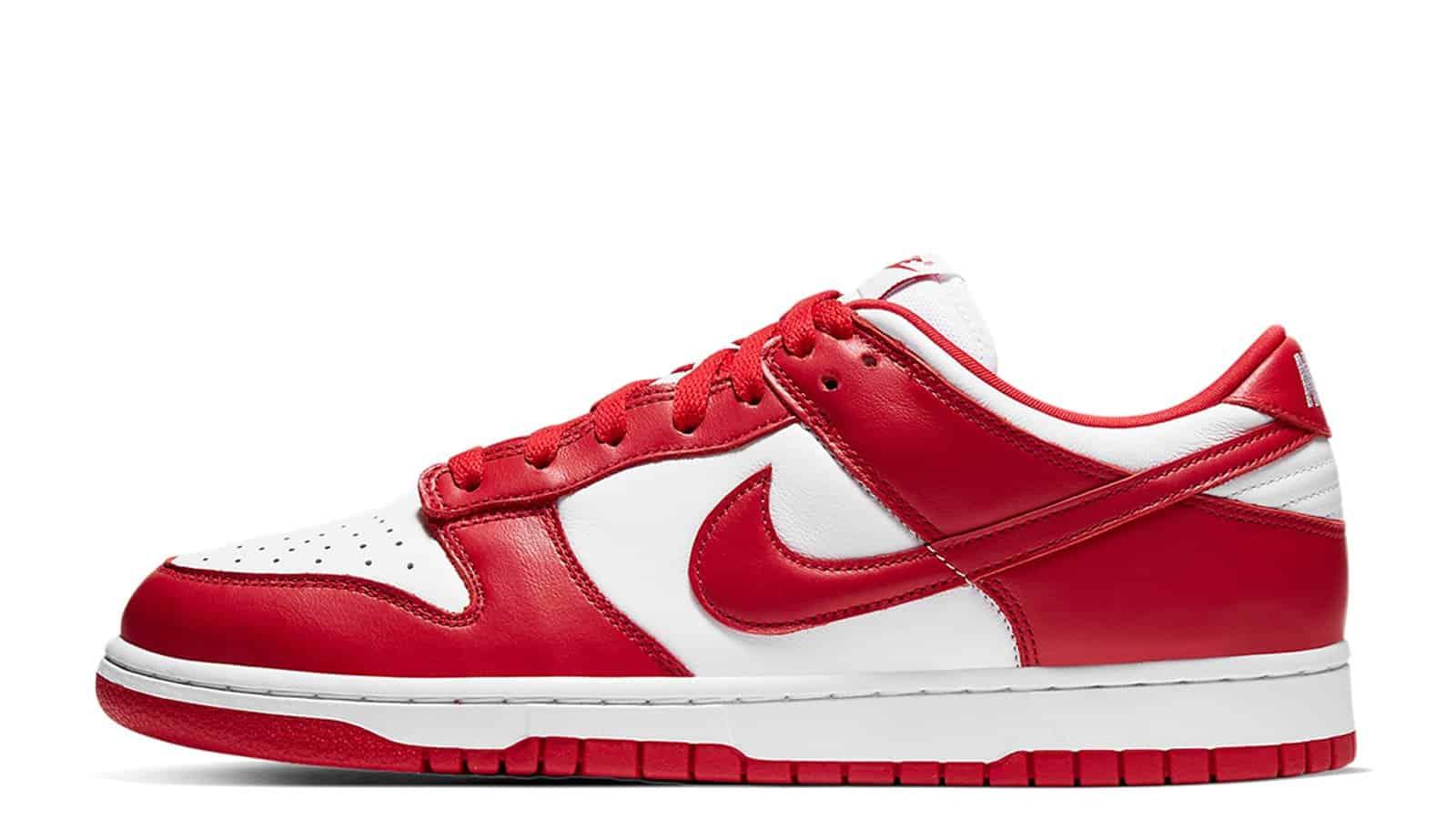 Nike Dunk Low SP University Red CU1727-100