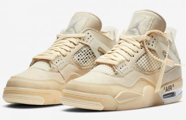 Off-White x Air Jordan 4 Official Images Released
