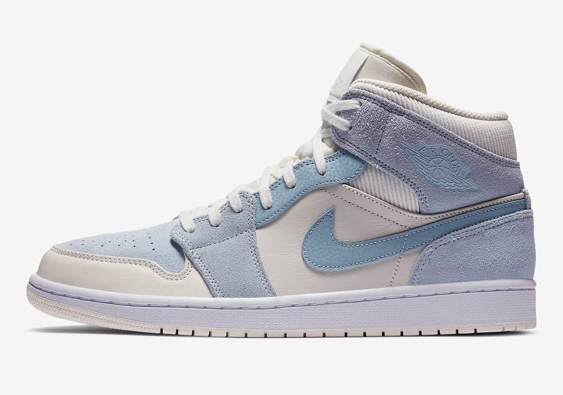 Air Jordan 1 Mid Bone White DA4666-100