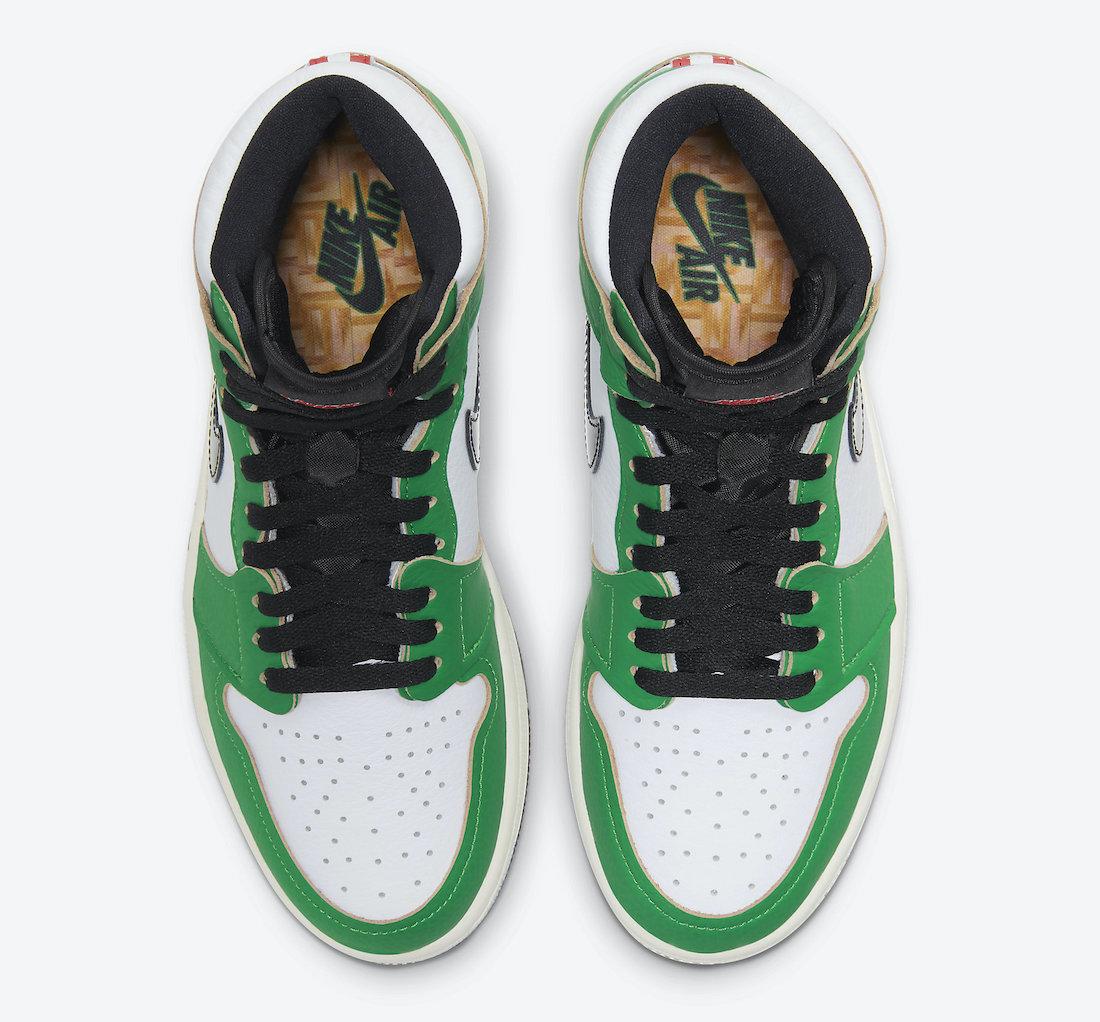 Air Jordan 1 'Lucky Green' DB4612-300 3
