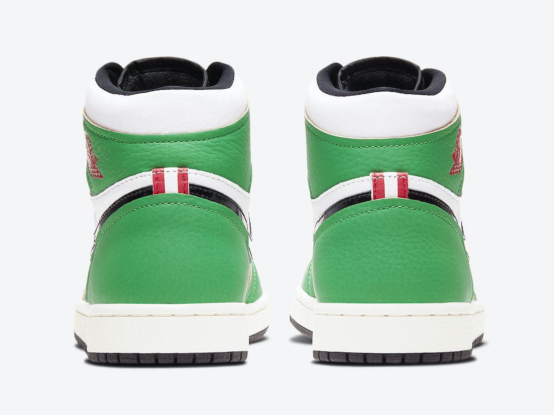 Air Jordan 1 'Lucky Green' DB4612-300 4