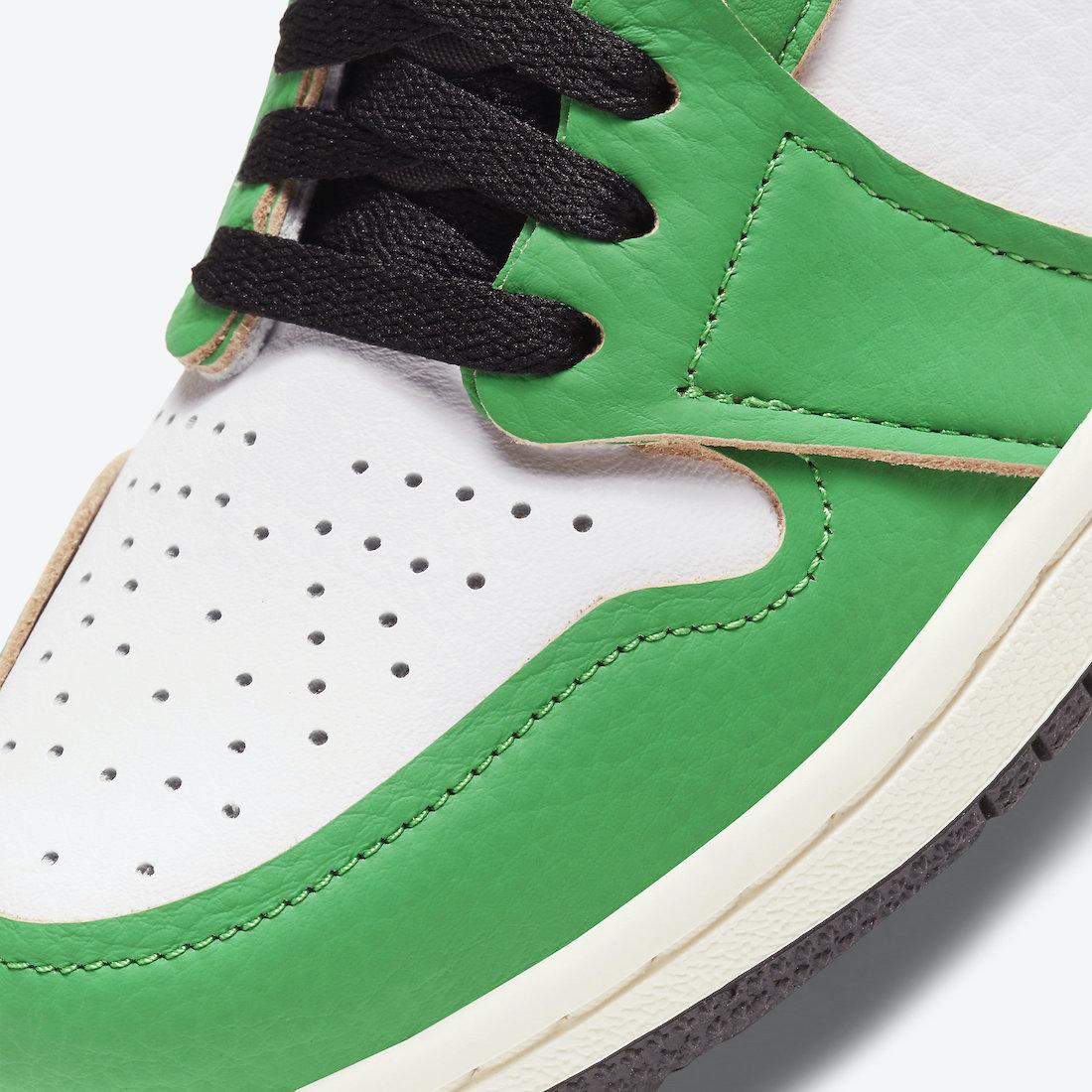 Air Jordan 1 'Lucky Green' DB4612-300 6