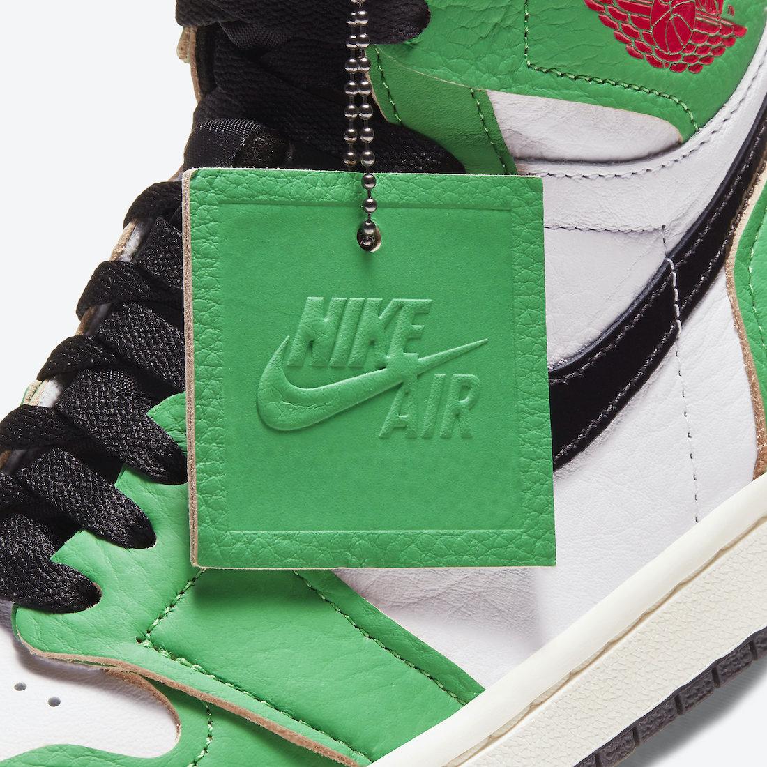 Air Jordan 1 'Lucky Green' DB4612-300 7