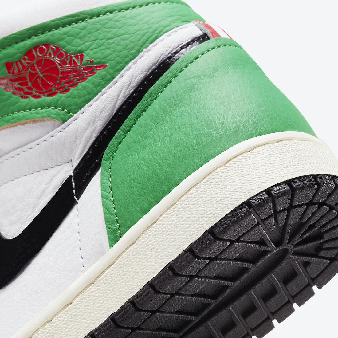 Air Jordan 1 'Lucky Green' DB4612-300 8