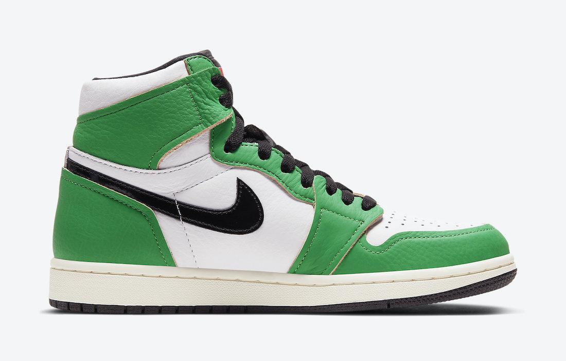 Air Jordan 1 'Lucky Green' DB4612-300 9