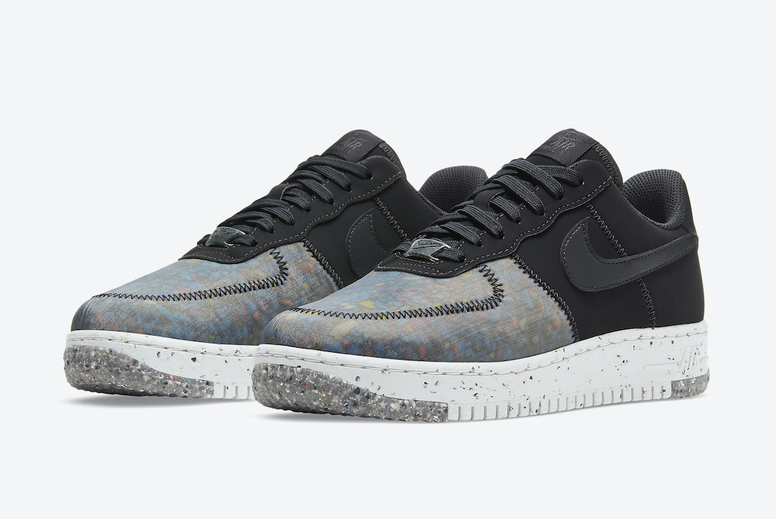 Nike Air Force 1 'Crater Foam Black Photon Dust CT1986-002 1