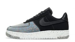 Nike Air Force 1 'Crater Foam Black Photon Dust'