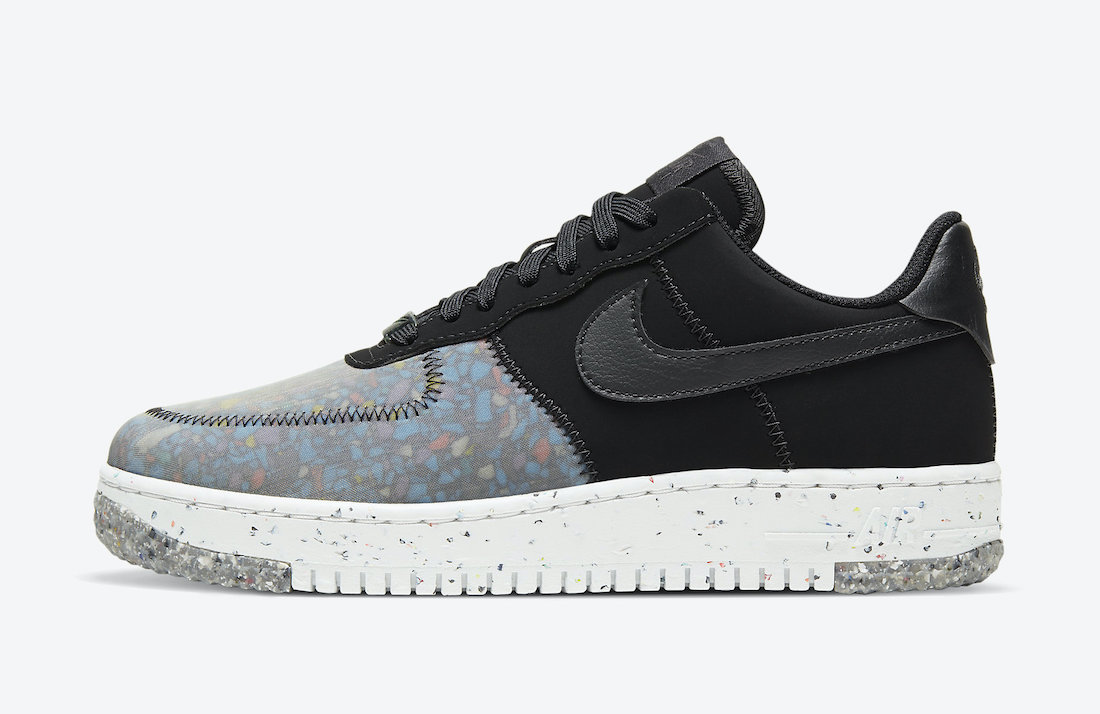 Nike Air Force 1 'Crater Foam Black Photon Dust CT1986-002 2