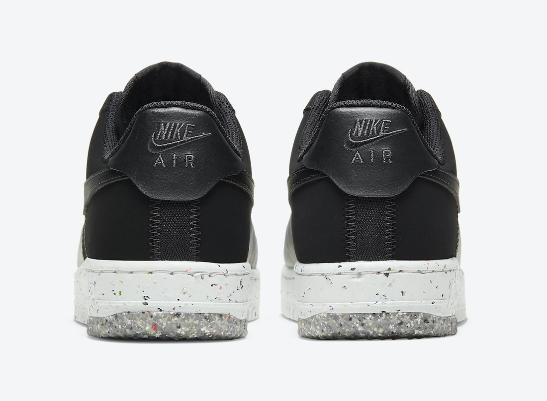 Nike Air Force 1 'Crater Foam Black Photon Dust CT1986-002 4