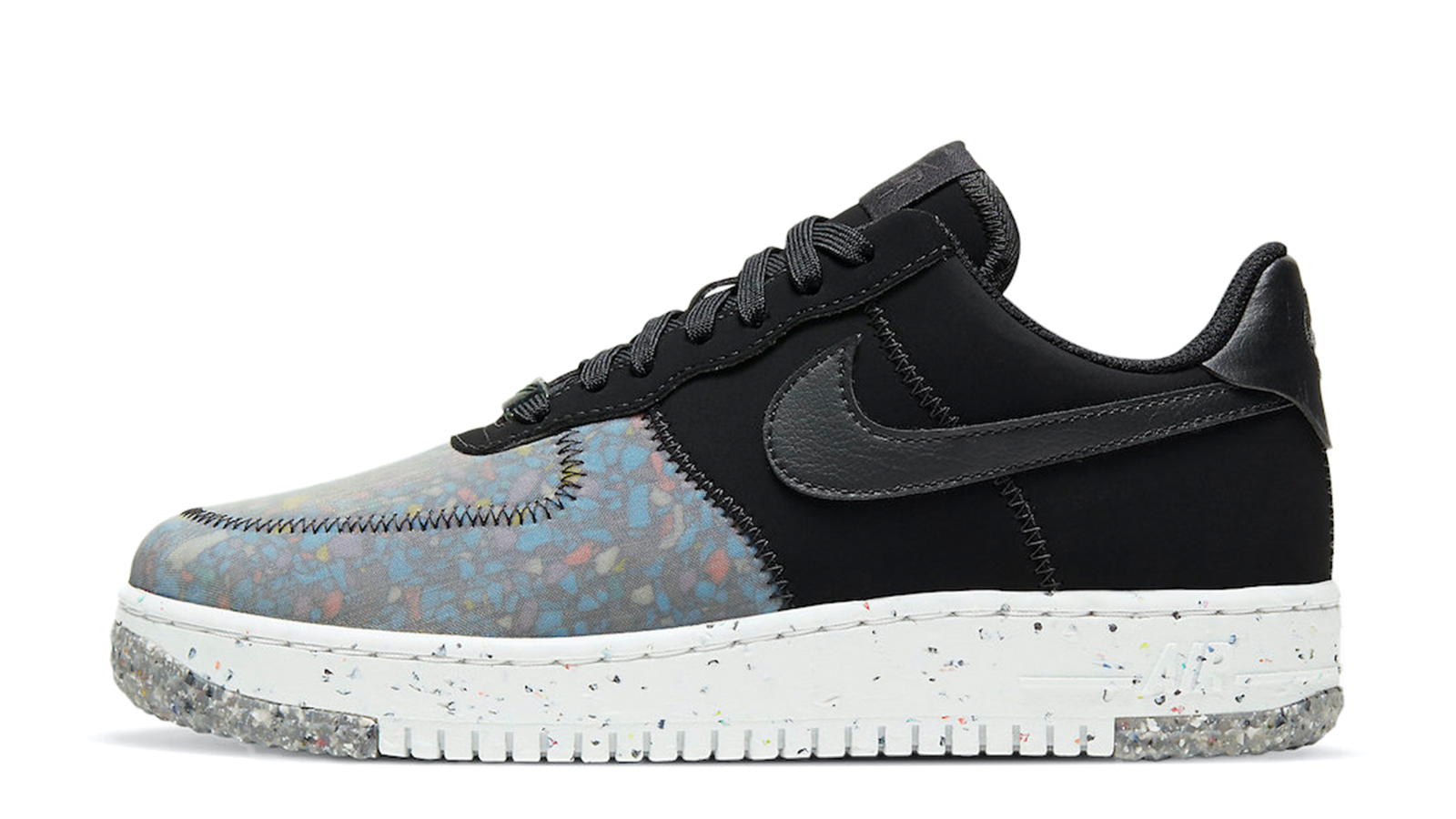 Nike Air Force 1 'Crater Foam Black Photon Dust CT1986-002