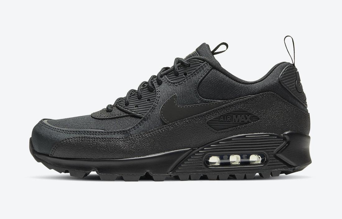 Nike Air Max 90 'Black Infrared Surplus' CQ7743-001 2