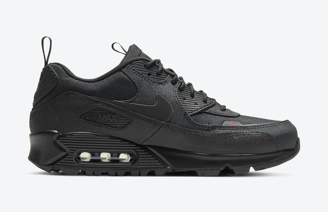 Nike Air Max 90 'Black Infrared Surplus' CQ7743-001 6