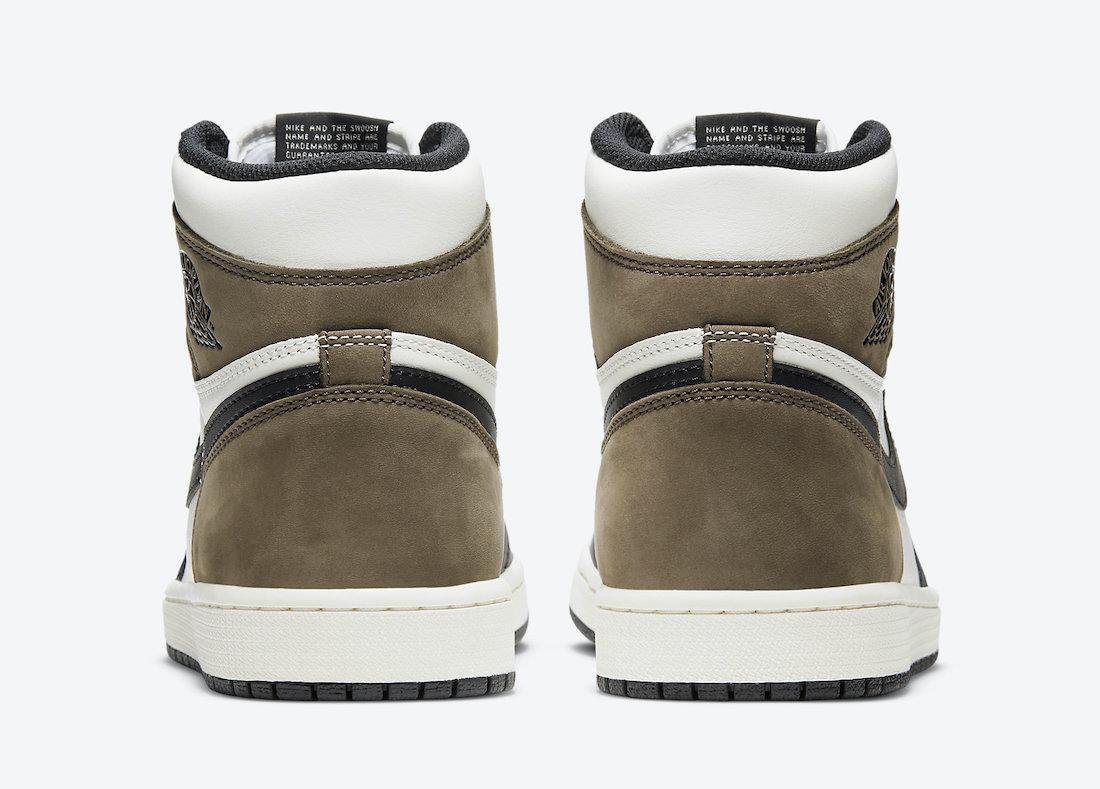 Air Jordan 1 'Dark Mocha' 555088-105 3
