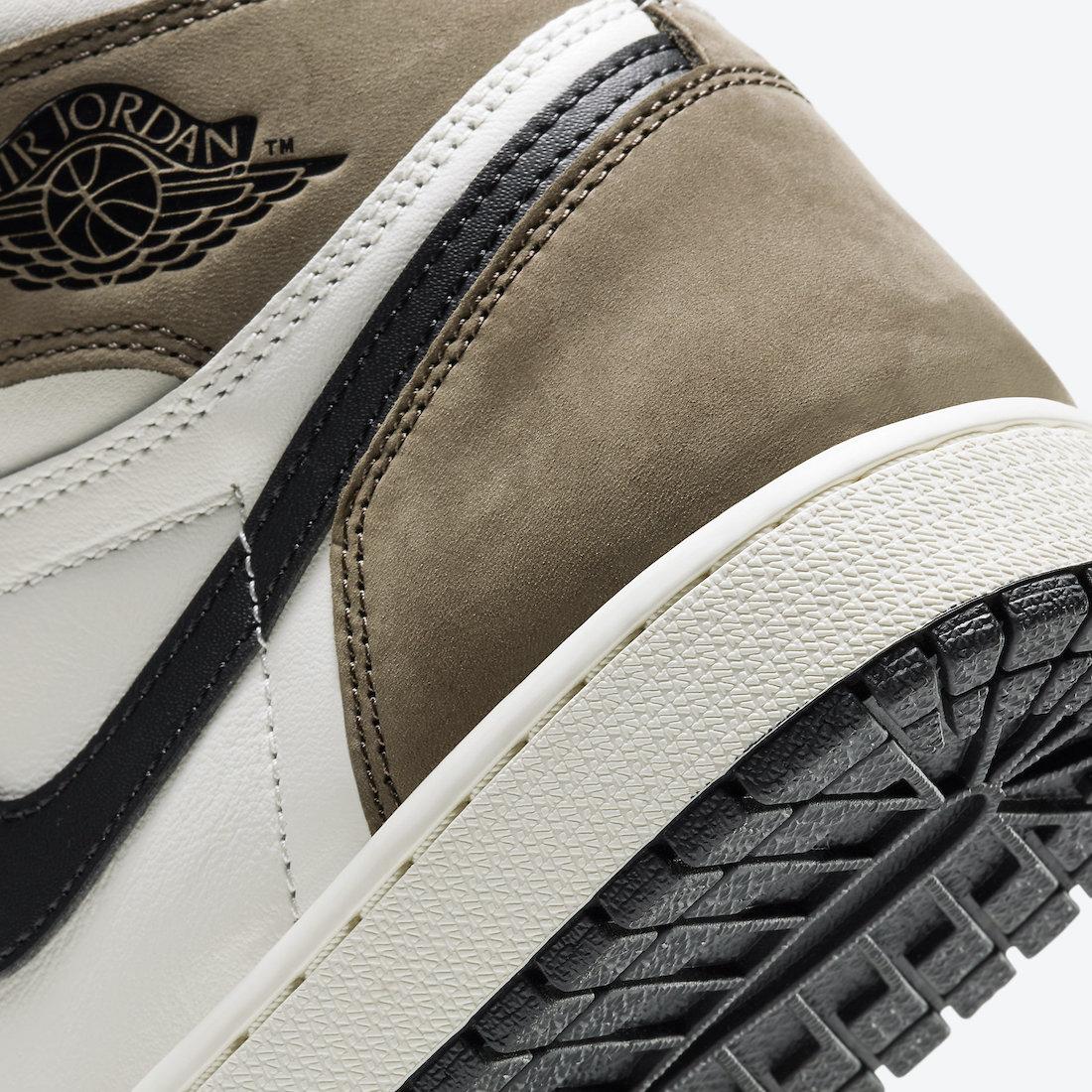Air Jordan 1 'Dark Mocha' 555088-105 5