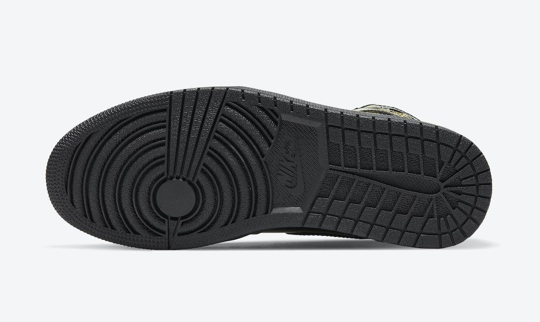 Air Jordan 1 'Patent Black Gold' 555088-032 7