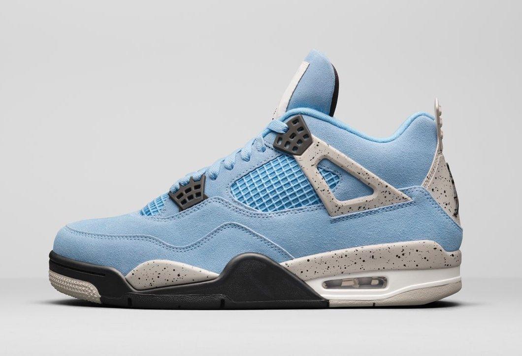 Air Jordan 4 'University Blue' CT8527-400 2