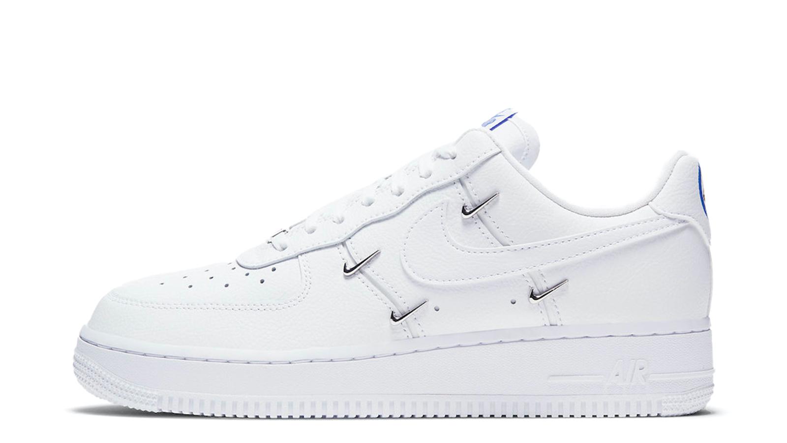 Nike Air Force 1 LX Chrome Swoosh CT1990-100