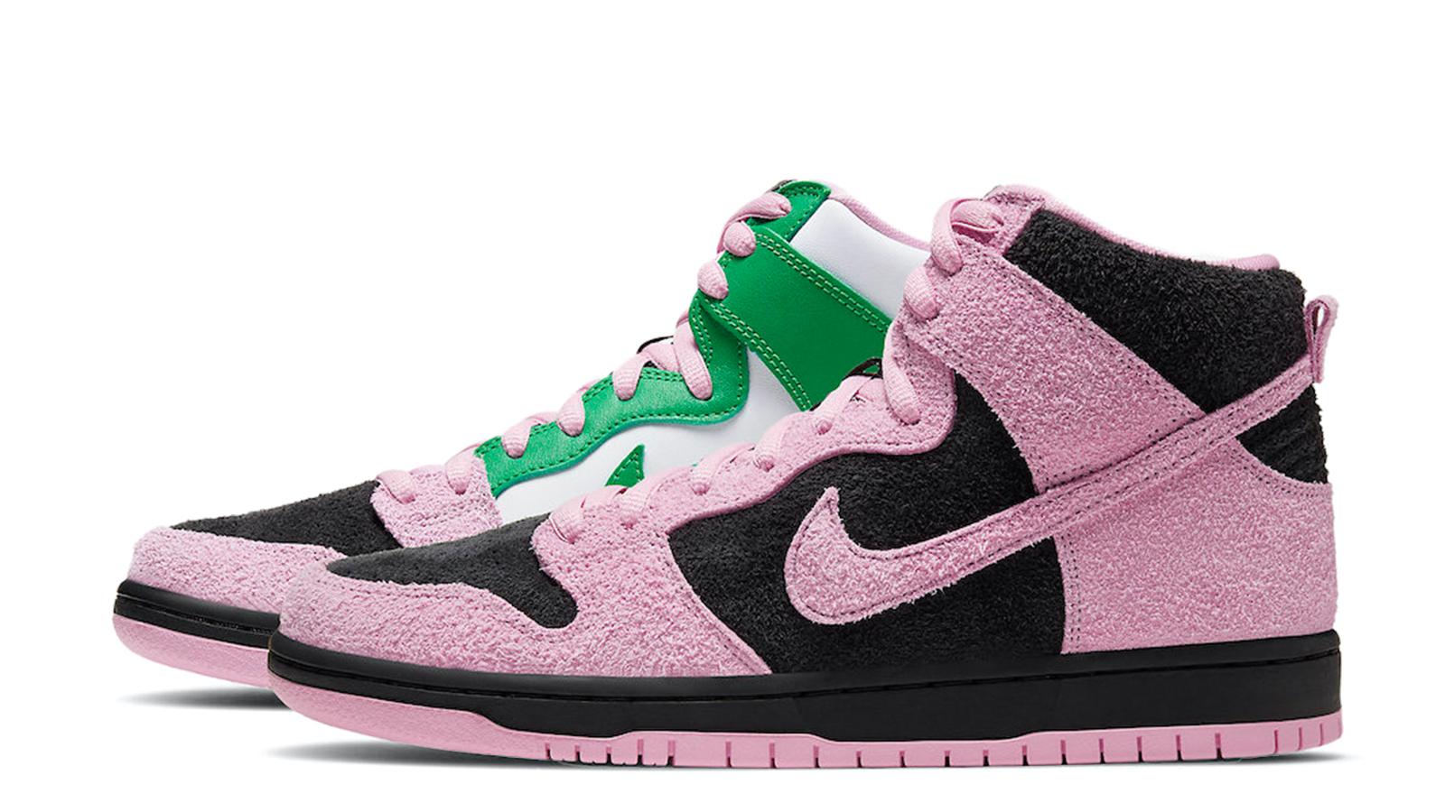 Nike SB Dunk High Invert Celtics CU7349-001