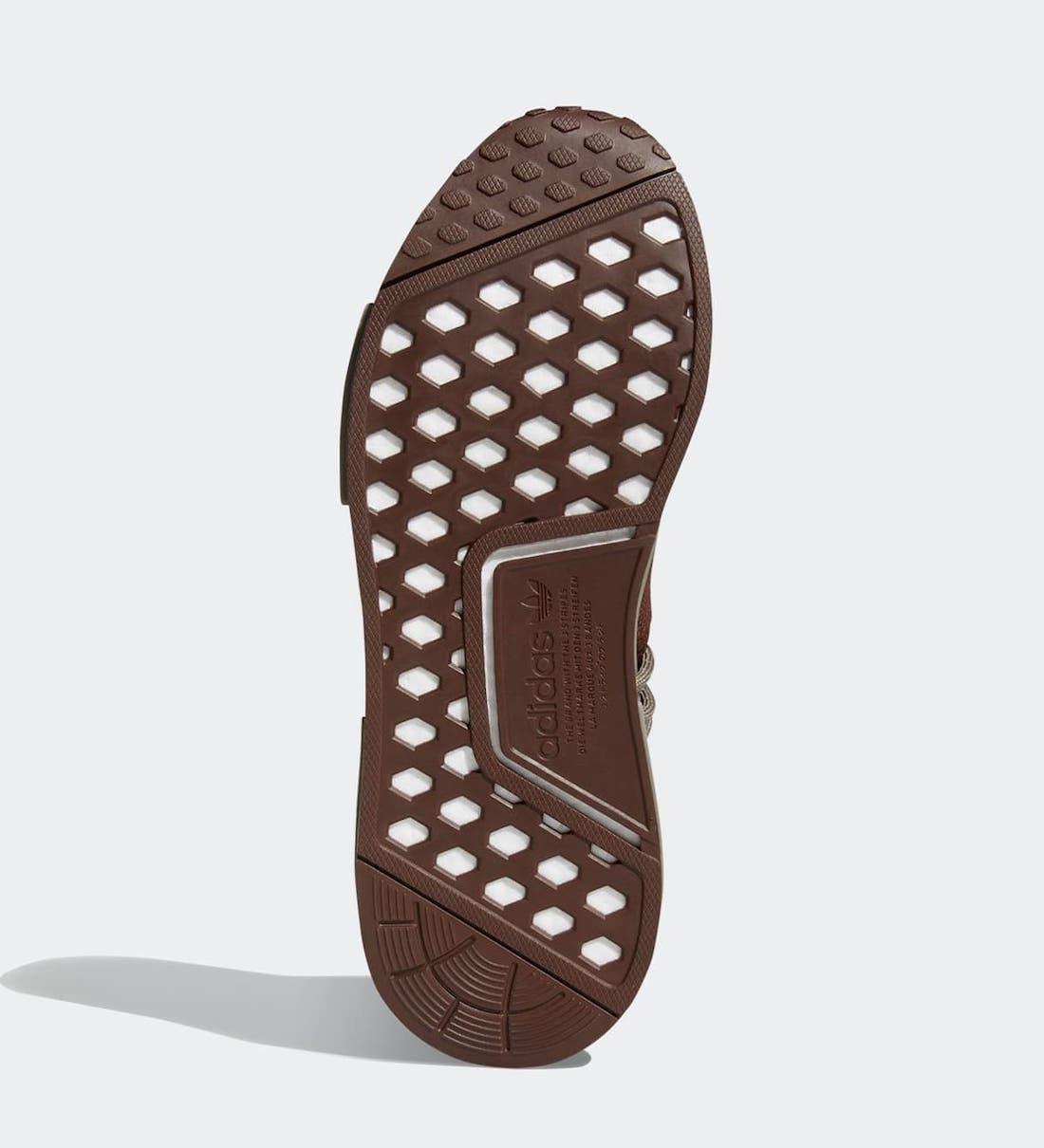 Pharrell x adidas NMD Hu 'Chocolate' GY0090 5