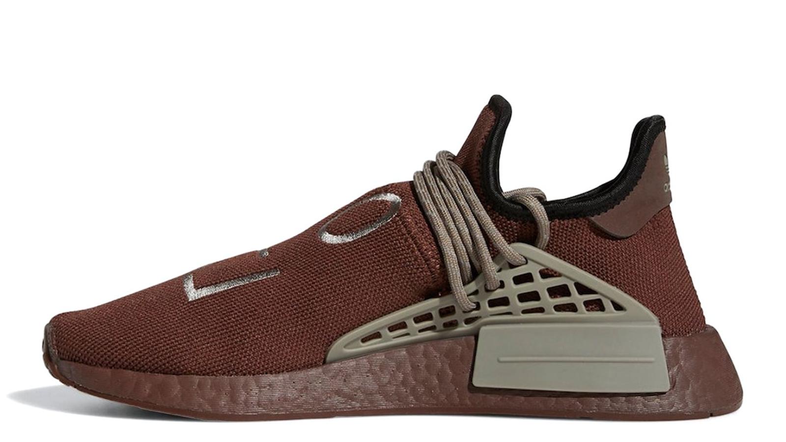 Pharrell x adidas NMD Hu Chocolate GY0090