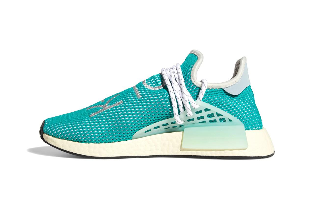 Pharrell x adidas NMD Hu Dash Green Q46466 2
