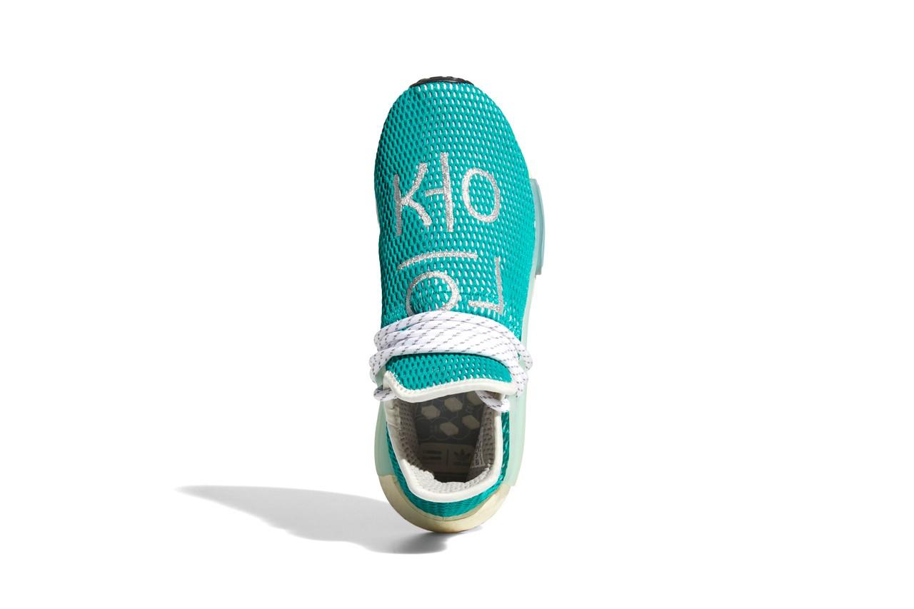 Pharrell x adidas NMD Hu Dash Green Q46466 3