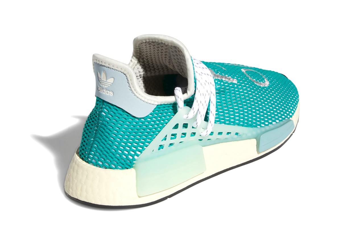 Pharrell x adidas NMD Hu Dash Green Q46466 5