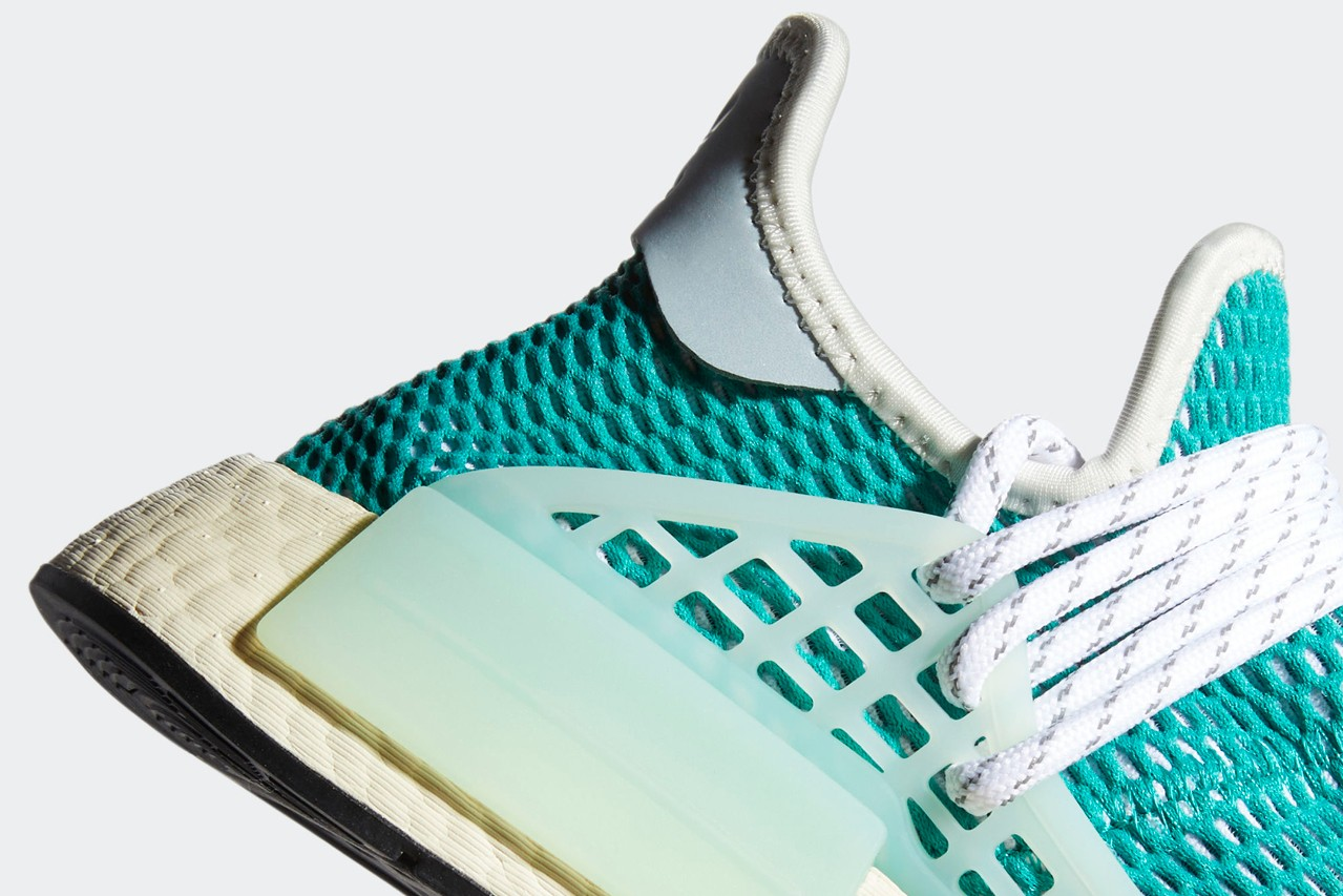 Pharrell x adidas NMD Hu Dash Green Q46466 7