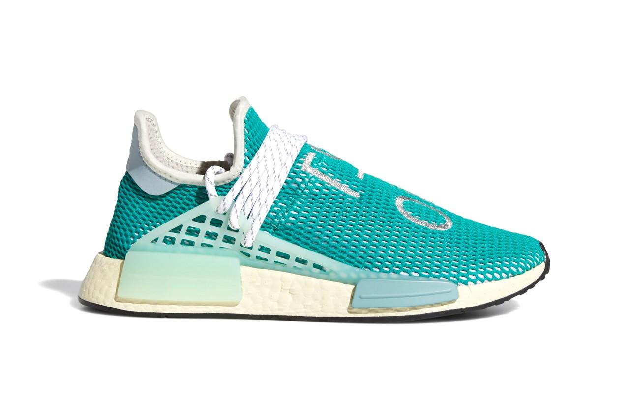 Pharrell x adidas NMD Hu Dash Green Q46466 8