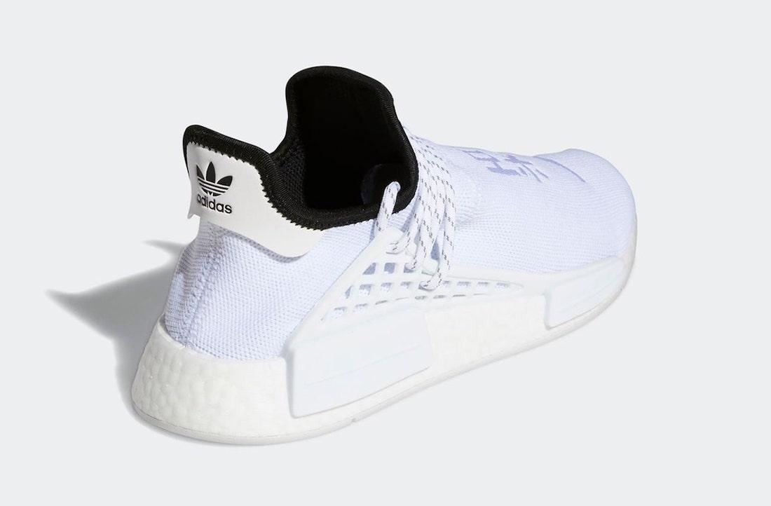 Pharrell x adidas NMD Hu White GY0092 3