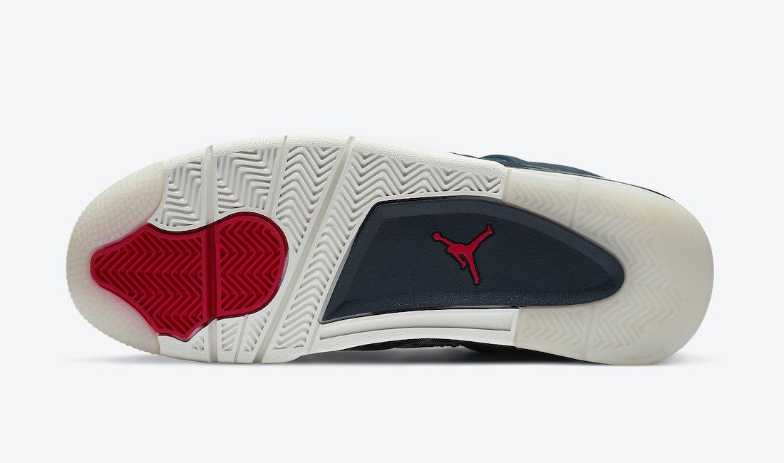 Air Jordan 4 'Sashiko' CW0898-400 7