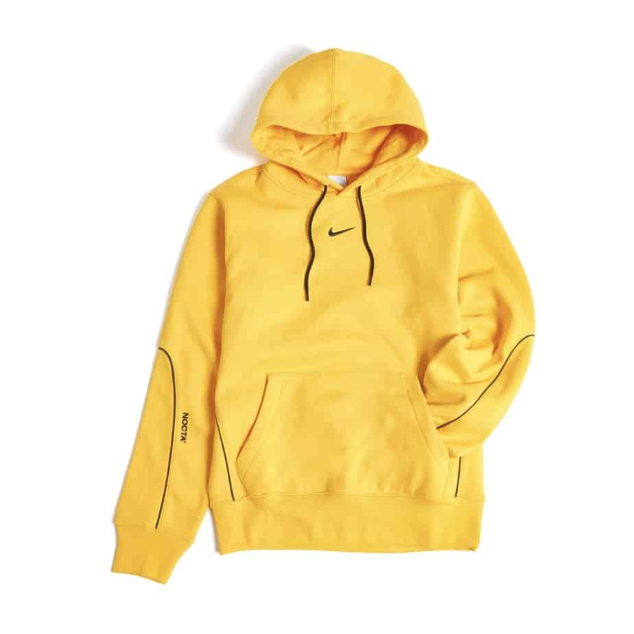 Drake x Nike NOCTA University Gold Hoodie