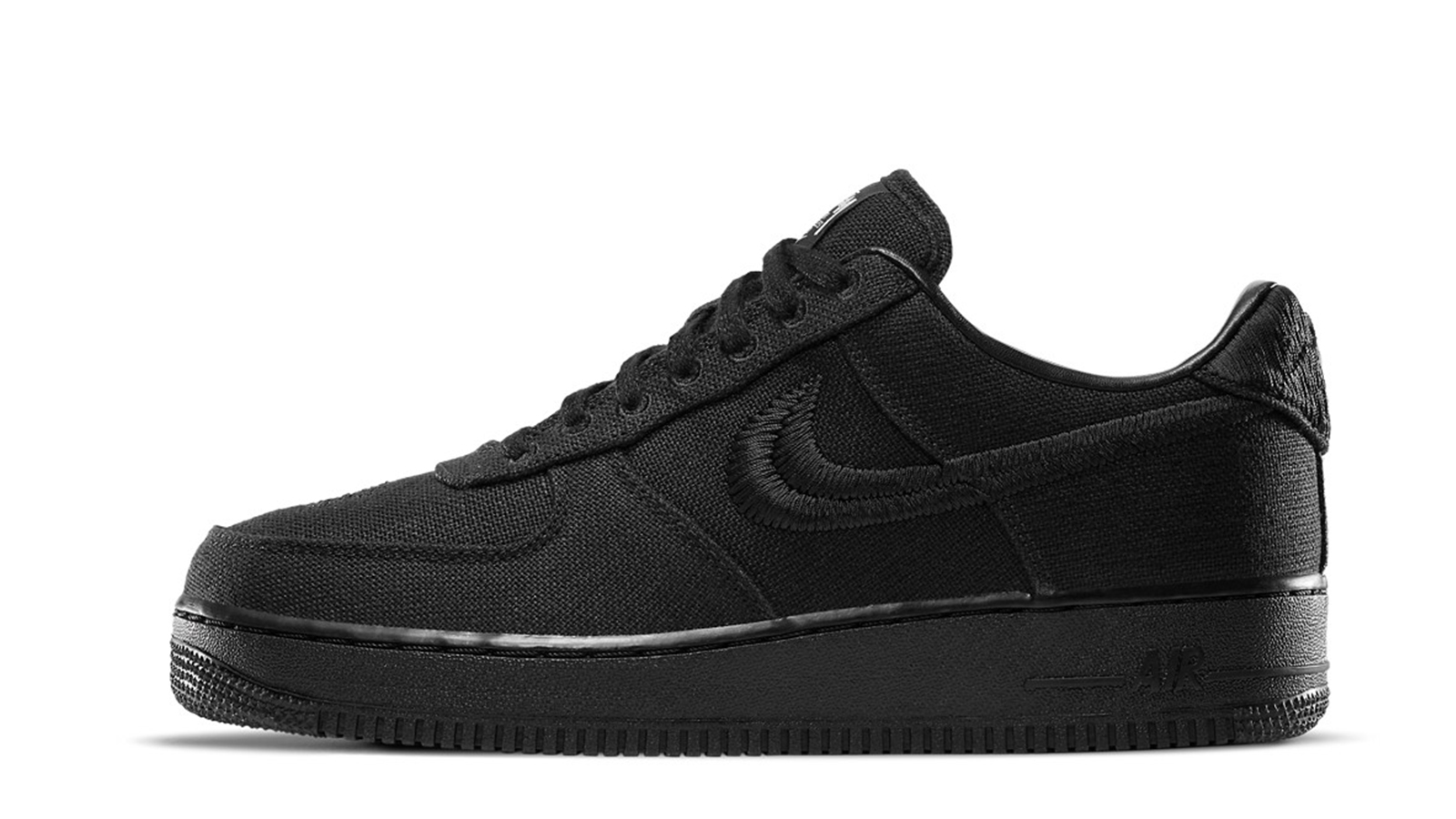 Stussy x Nike Air Force 1 Black CZ9084-001