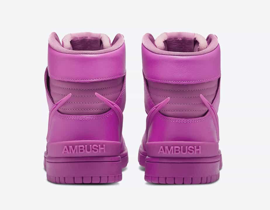 Ambush x Nike Dunk High 'Cosmic Fuchsia' CU7544-600 4
