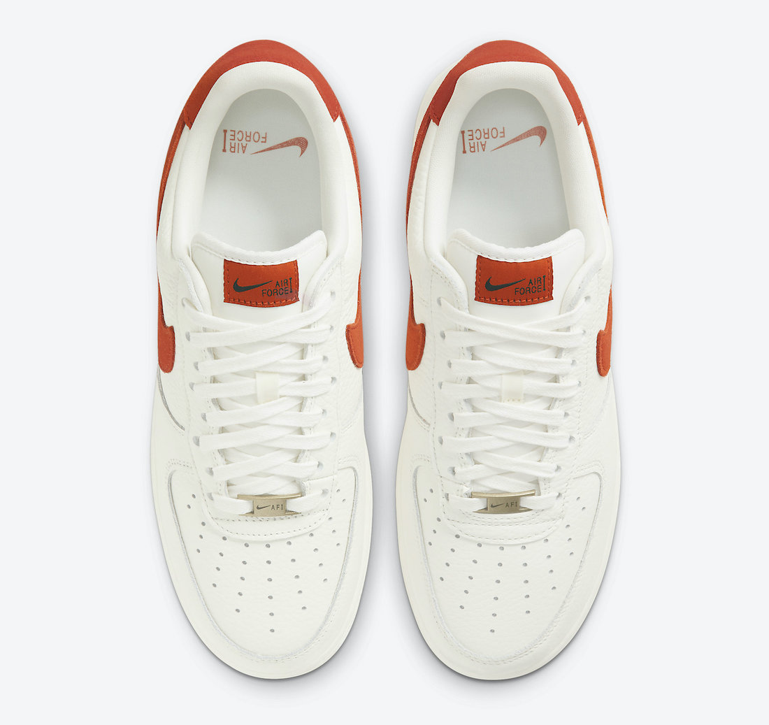 Nike Air Force 1 07 Craft 'Mantra Orange' CV1755-100 3