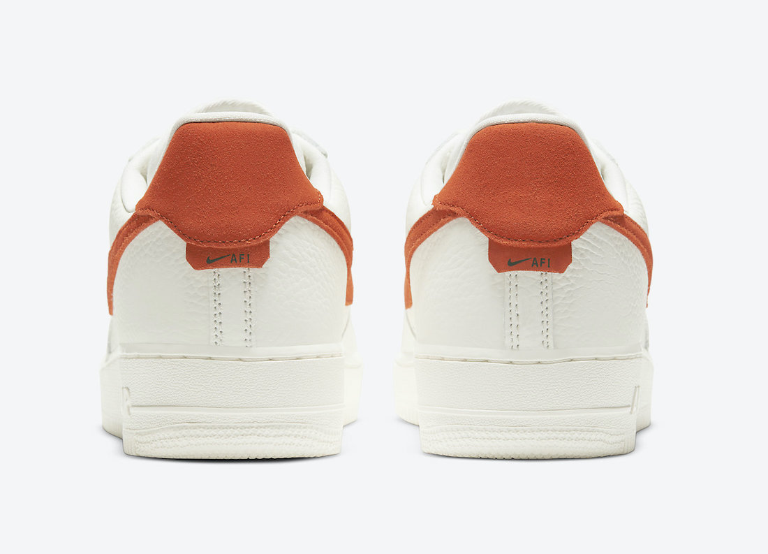 Nike Air Force 1 07 Craft 'Mantra Orange' CV1755-100 4