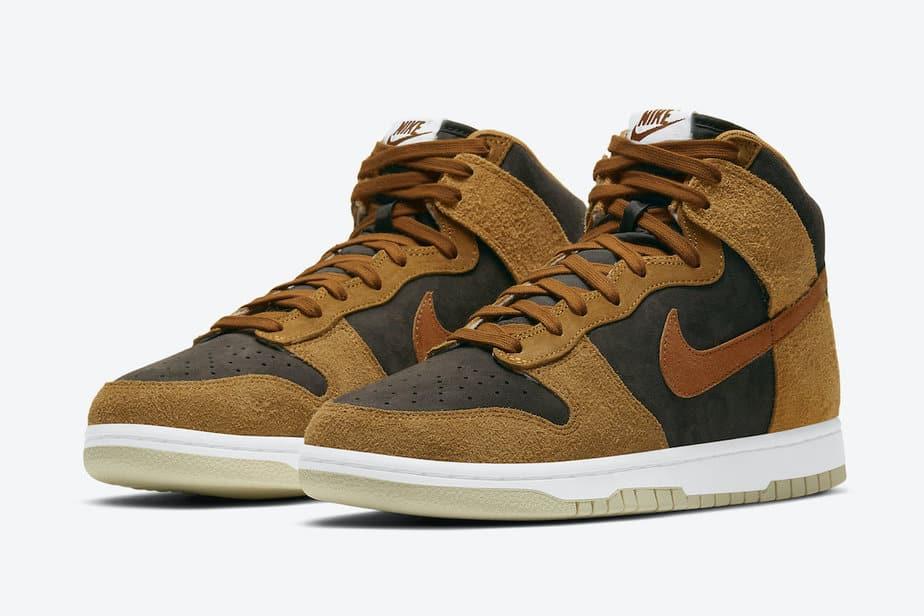 Nike Dunk High Dark Russet DD1401-200 1