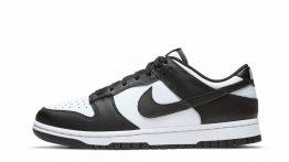 Nike Dunk Low Black White (W)