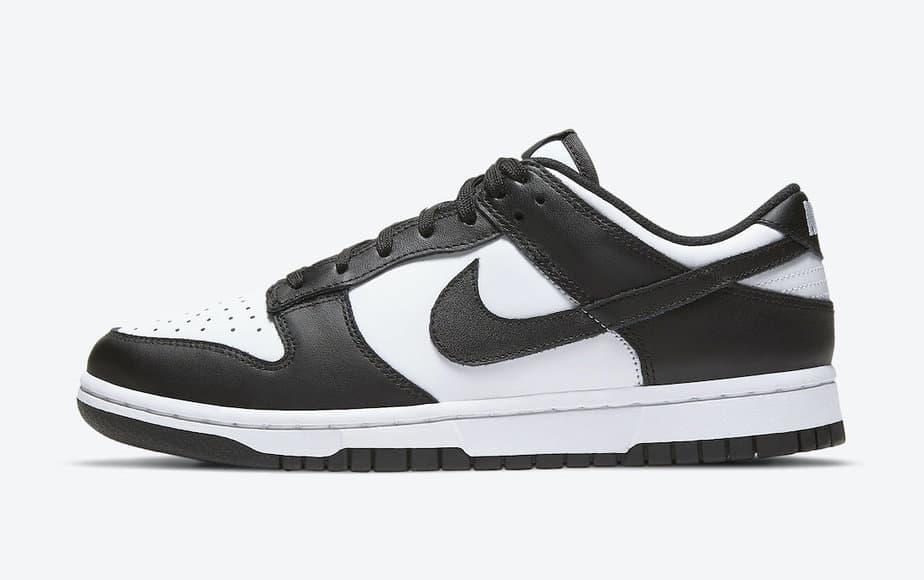 Nike Dunk Low Black White DD1503-101 2