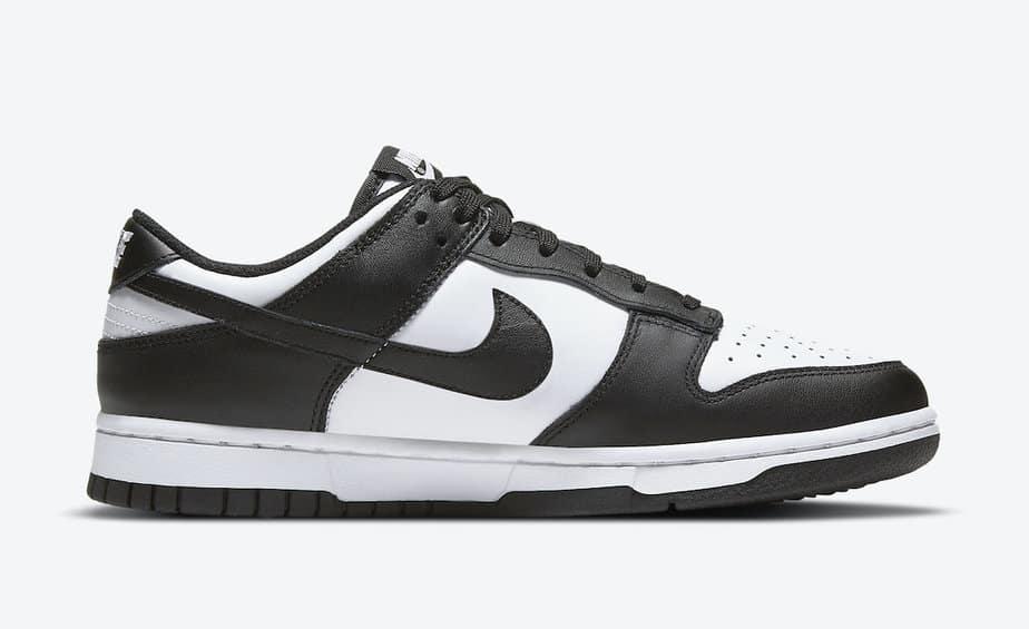 Nike Dunk Low Black White DD1503-101 8