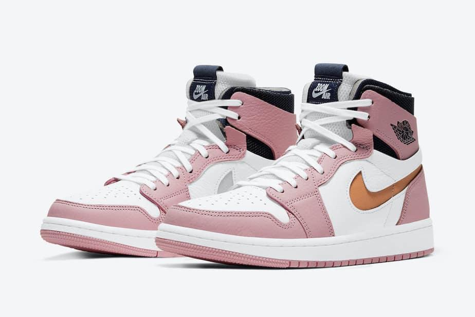 Air Jordan 1 Zoom 'Pink Glaze' CT0979-601 1