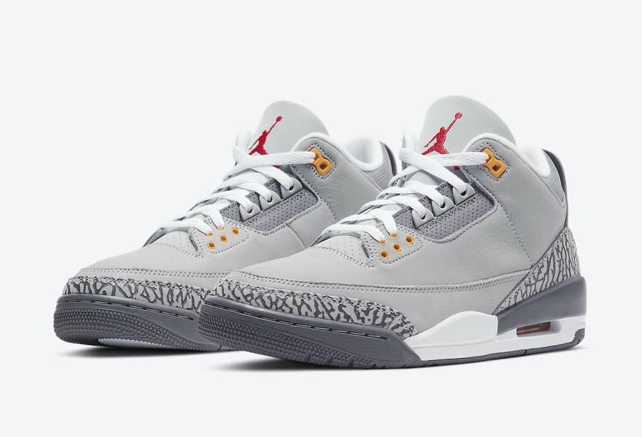 Air Jordan 3 'Cool Grey' CT8532-012 1