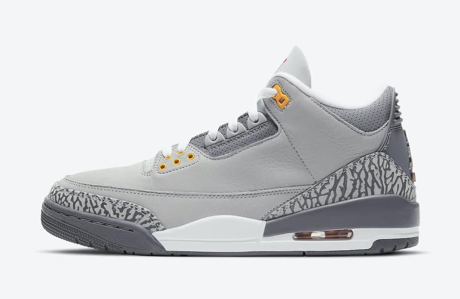 Air Jordan 3 'Cool Grey' CT8532-012 2